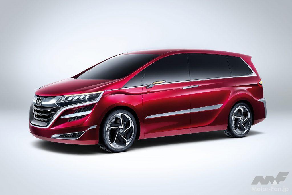 2013年4月の上海モーターショーで世界初公開されたホンダ・コンセプトM