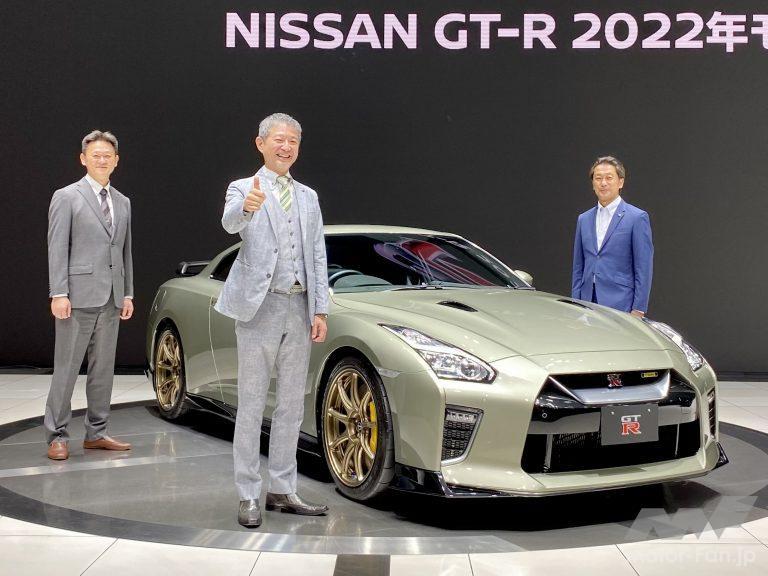 日産GT-R2022年特別仕様車を前に開発に関わった三名
