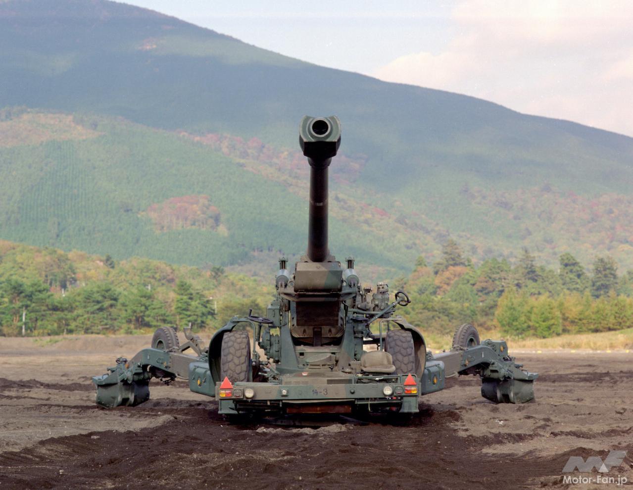 「スバル製水平対向エンジンで自走できる長距離砲「155㎜榴弾砲 FH-70」:陸上自衛隊」の6枚目の画像