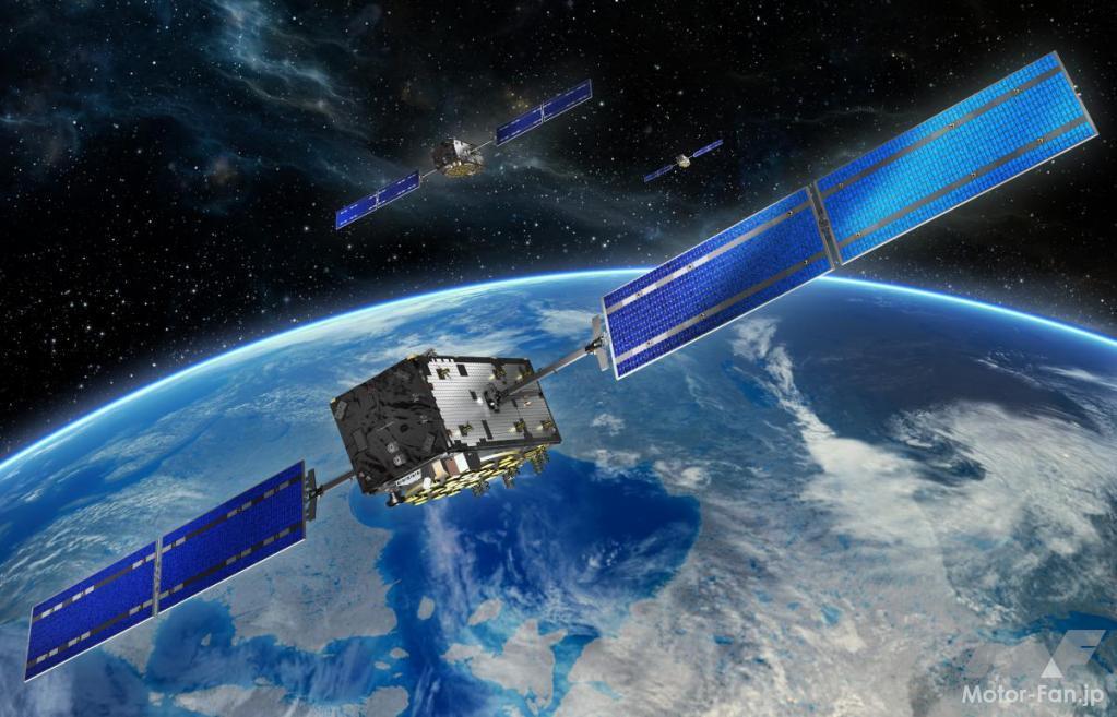 「自車位置測位システムは、「GPS?」「GNSS?」自動運転でも重要な測位システム」の1枚目の画像