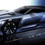 新型スバルWRXの黒いホイールアーチは2014年より予告されていた! - viziv-gt-vision-gran-turismu