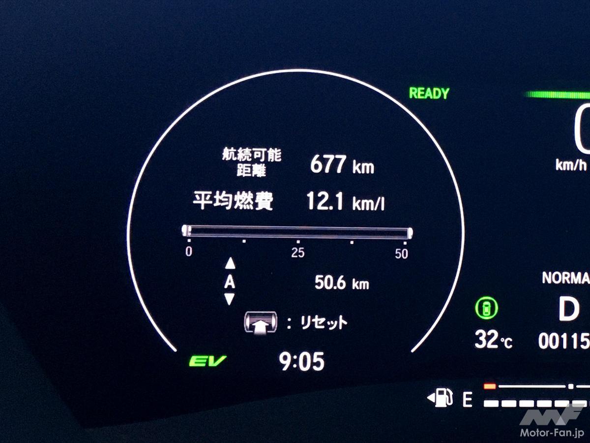 「新型ホンダ・ヴェゼル 旧型ヴェゼルと同じ条件で燃費を比べてみた。果たしてi-DCDよりe:HEVはどれほど良いか?」の7枚目の画像
