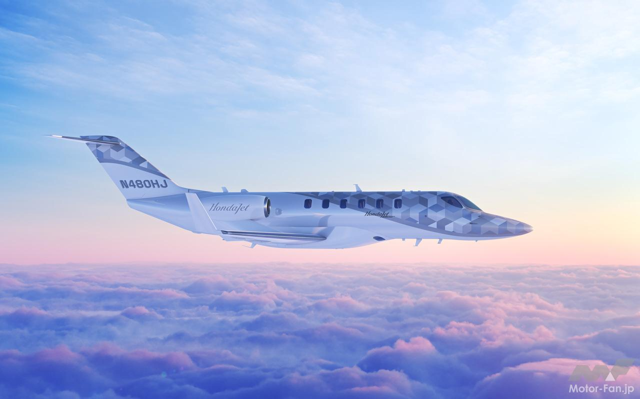 「ホンダが小型ビジネスジェット機のコンセプト「HondaJet2600 Concept」を航空機ショー「NBAA 2021」で参考展示」の1枚目の画像