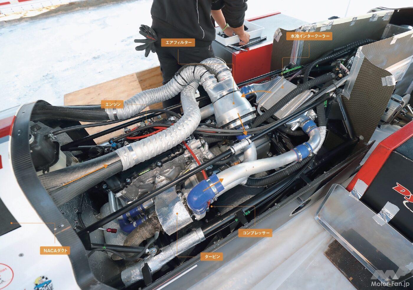 「軽自動車ホンダS660のエンジンで最高速421.595km/h! 254ps 1万rpmまで回る!」の11枚目の画像