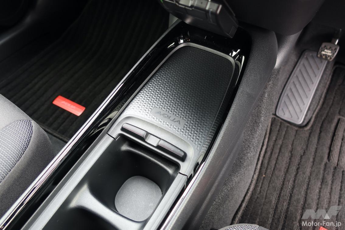 「トヨタ・アクア | 圧巻の燃費、静かで広い。ヤリスでなくアクアを選ぶ理由」の6枚目の画像