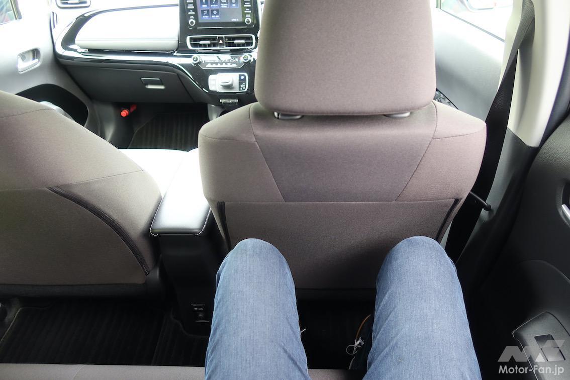 「トヨタ・アクア | 圧巻の燃費、静かで広い。ヤリスでなくアクアを選ぶ理由」の9枚目の画像