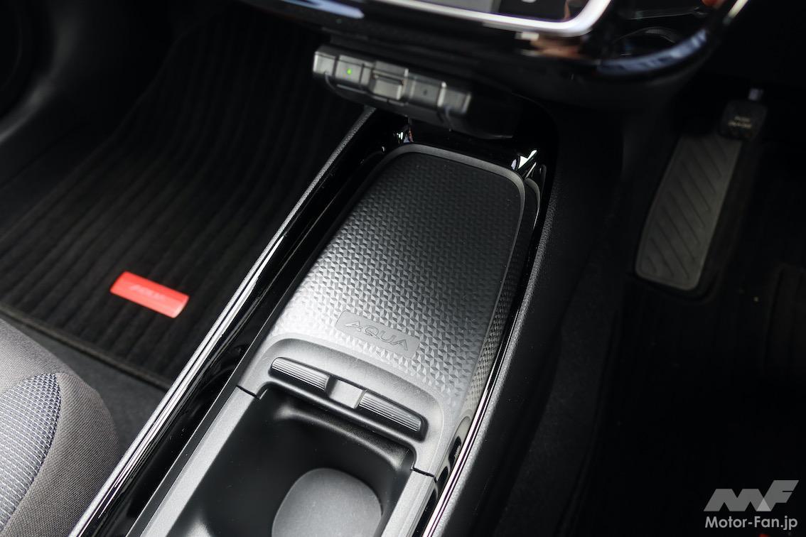 「トヨタ・アクア | 圧巻の燃費、静かで広い。ヤリスでなくアクアを選ぶ理由」の19枚目の画像