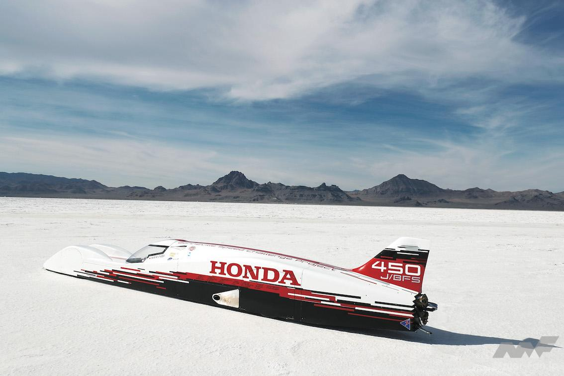 「軽自動車ホンダS660のエンジンで最高速421.595km/h! 254ps 1万rpmまで回る!」の3枚目の画像