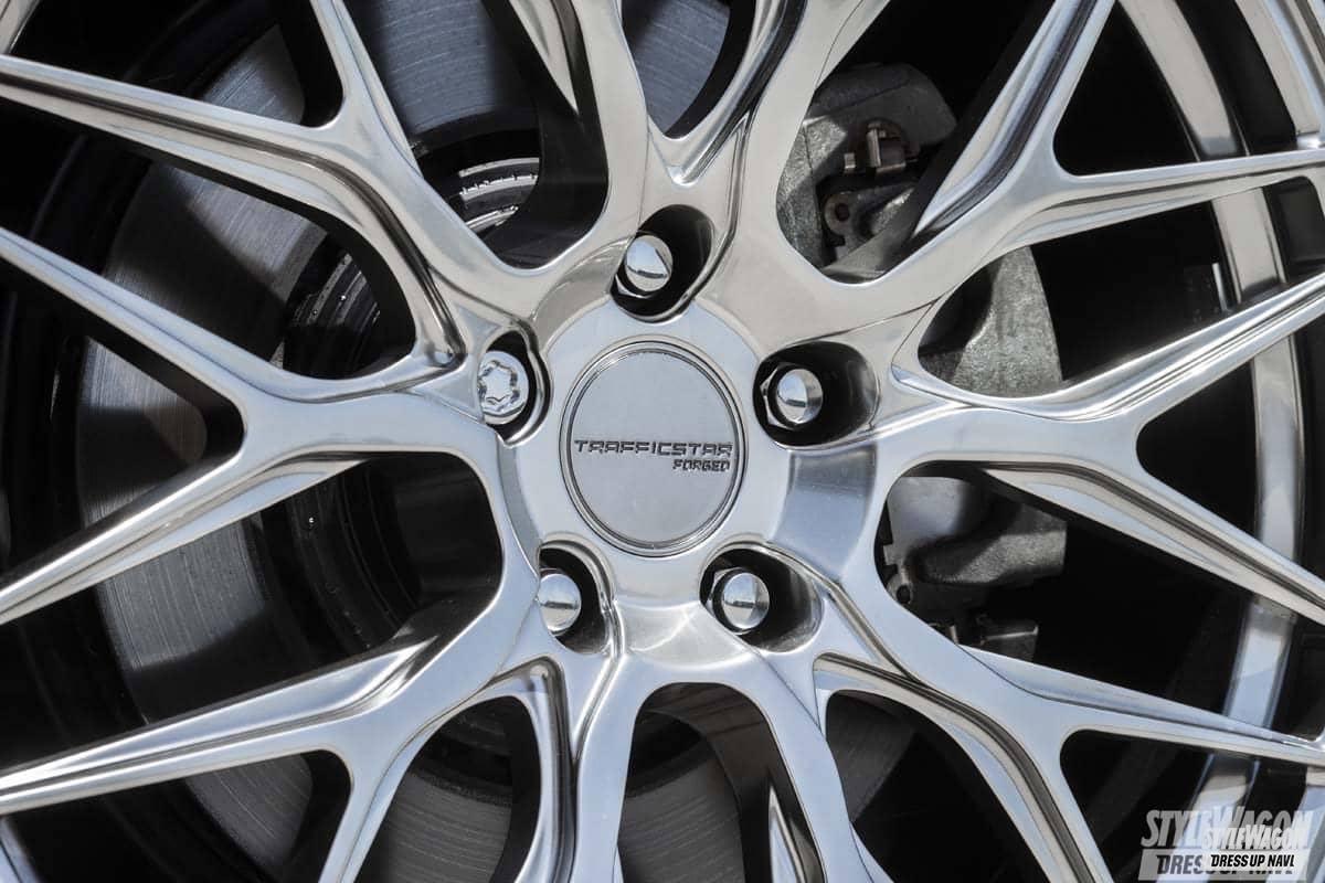 「洗練されたデザインと高品質! 高級車にマッチする鍛造トラフィックスターフォージド第一弾! ホイール カスタム」の3枚めの画像