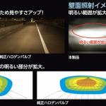【200系ハイエースのハイビームをLED化】究極の明るさをカプラーオンで実現する - 照射イメージ画像