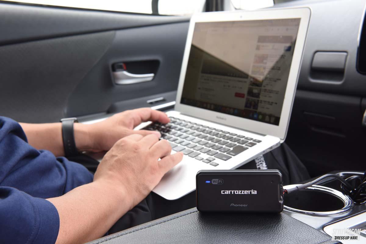 「車載用Wi-Fiルーターはどこまで使える? 車内をオンライン化するとこんなに便利!?|カロッツェリア・DCT-WR100D」の1枚目の画像