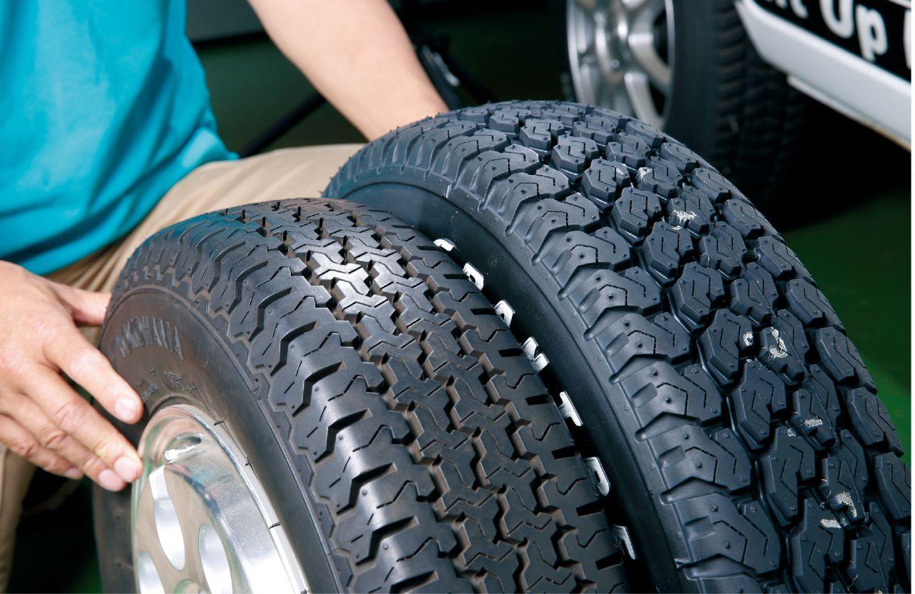 「ゴツ溝チェック! アゲ軽タイヤに似合うブロックタイヤラインアップ!! もっと車高を上げたいならタイヤ選びにもこだわろう」の11枚目の画像