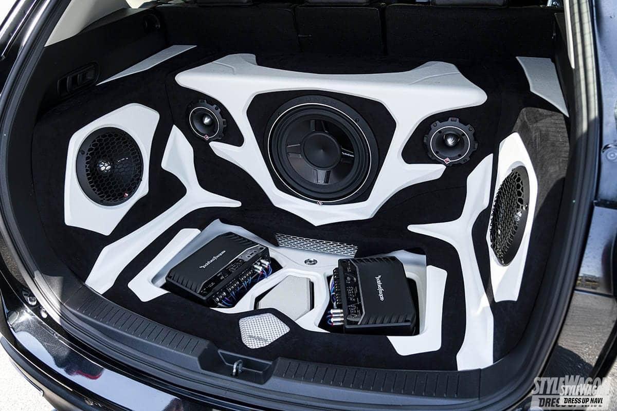 「【車高短系SUV_VOL1】エアサス派のCX-3と車高調派のCX-5 クーペのようなローフォルムが渋い!」の14枚目の画像