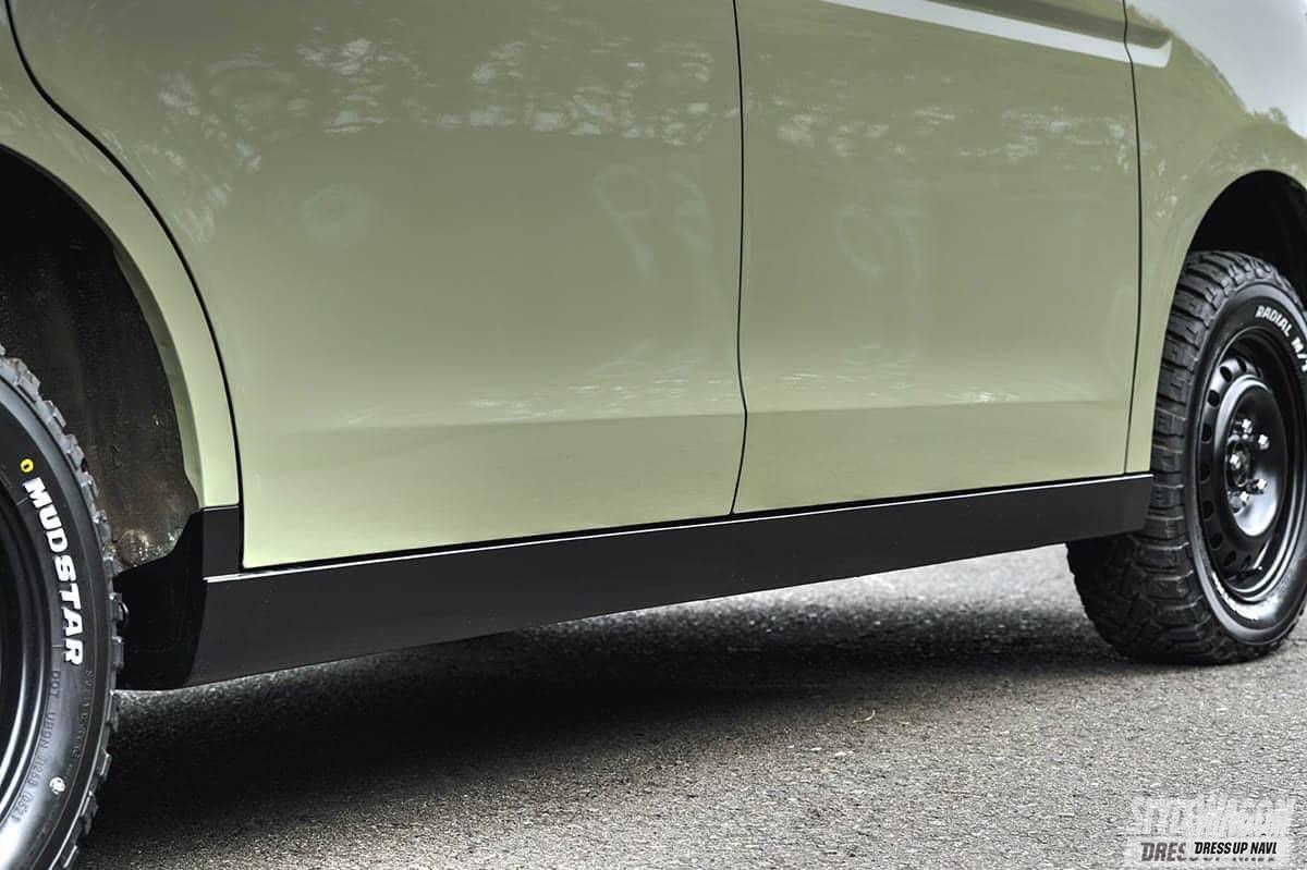 「【何故? 密かに人気】ミニバンUP STYLEの魅力 VOL6 リフトアップ+エアロレスさらに塗装でイメージ一新 ホンダ ステップワゴン」の2枚めの画像