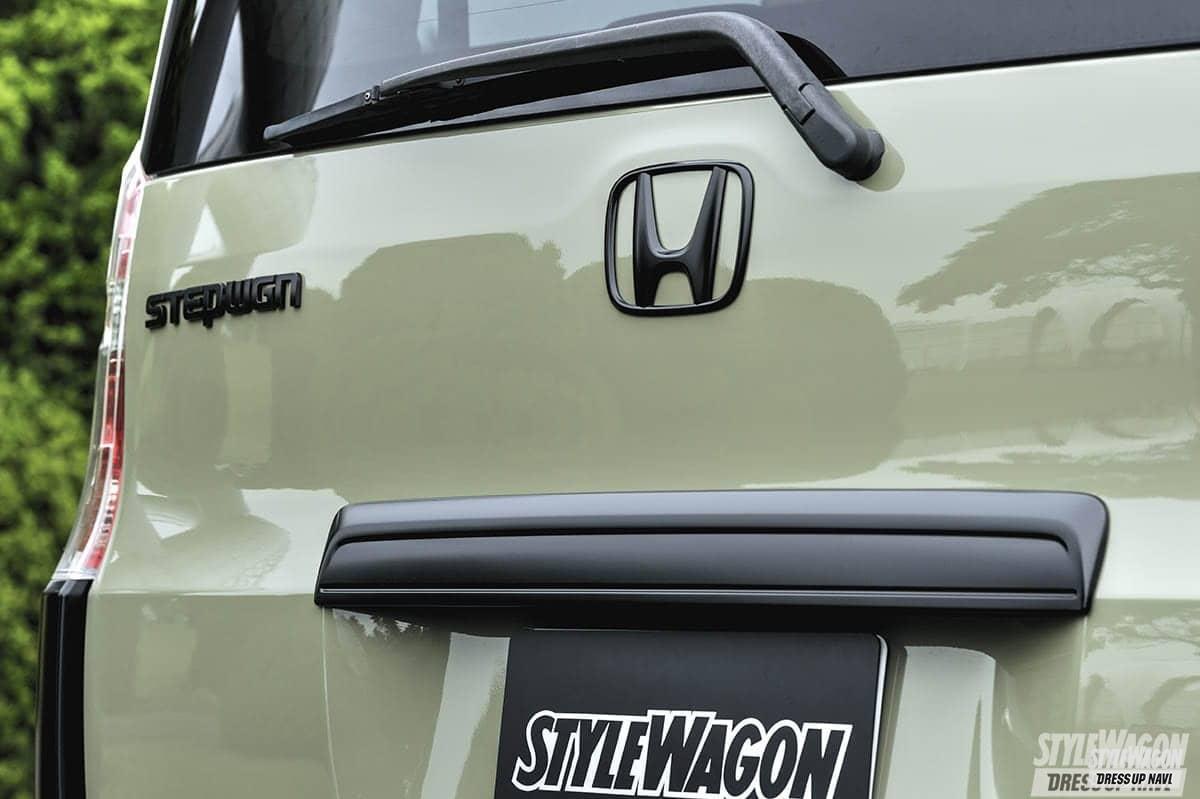「【何故? 密かに人気】ミニバンUP STYLEの魅力 VOL6 リフトアップ+エアロレスさらに塗装でイメージ一新 ホンダ ステップワゴン」の8枚めの画像