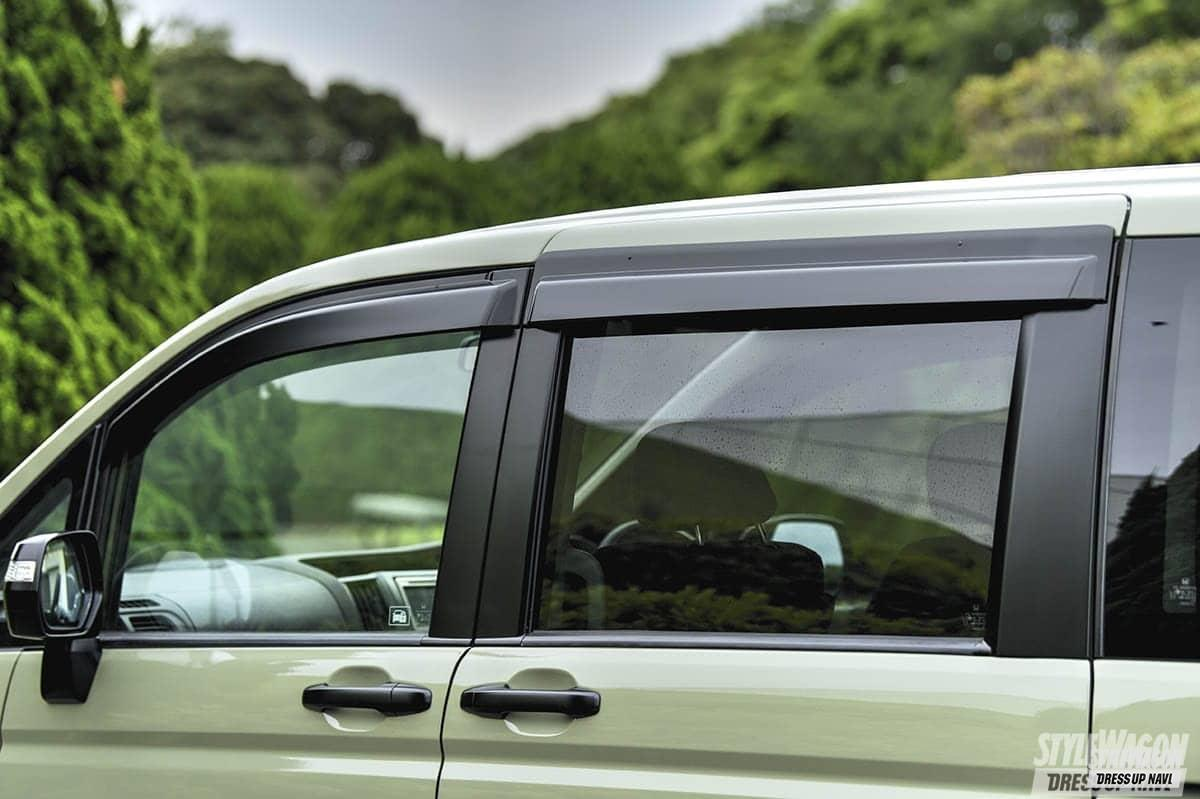 「【何故? 密かに人気】ミニバンUP STYLEの魅力 VOL6 リフトアップ+エアロレスさらに塗装でイメージ一新 ホンダ ステップワゴン」の7枚めの画像
