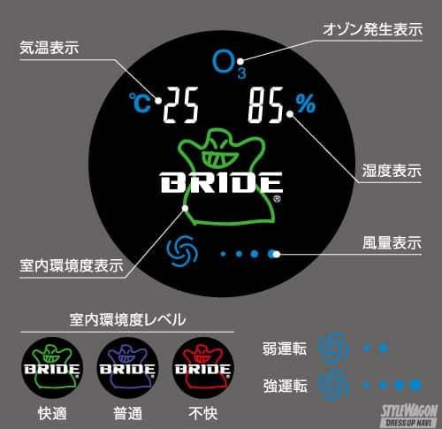 「【ブリッドから!?】携帯型空気清浄機能付オゾン除菌脱臭器 エアバスター・ポータブルBRIDEエディション」の3枚目の画像