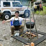 【羨ましい! ジムニーのある生活_男のキャンプ】森の中で日常を忘れうまい料理を食らい笑う - SW202108_047_003