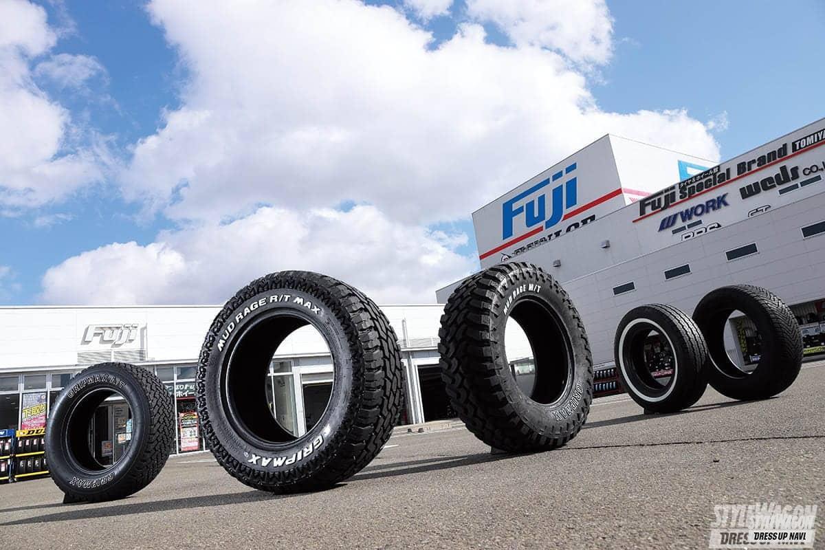 グリップマックス タイヤ テレーン AT MT ホワイトレター オフロード タイヤ