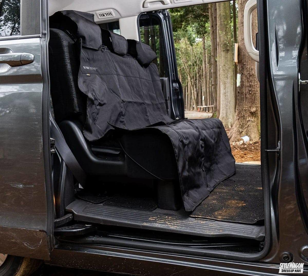 シートカバー ゴードンミラー キャンプ アウトドア 汚れ 防止 簡単 車中泊