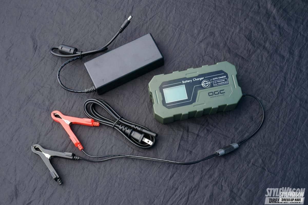 「スマホ&家電がそのまま使える! 持ち運びも楽チンなオシャレポータブル電源!」の1枚めの画像