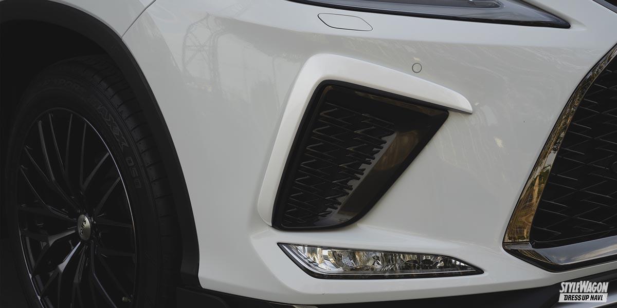 「【レクサス・RX450h】52ミリ増のオーバーフェンダーで、貫禄十分なチューナーズスタイルへ」の2枚めの画像