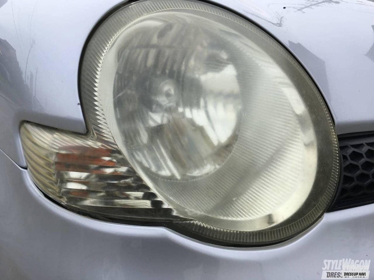 「DIYでも対策可! 黄ばみ除去したヘッドライトはまた黄ばむ……クリアな状態を保てるコーティングスプレー爆誕!」の1枚めの画像