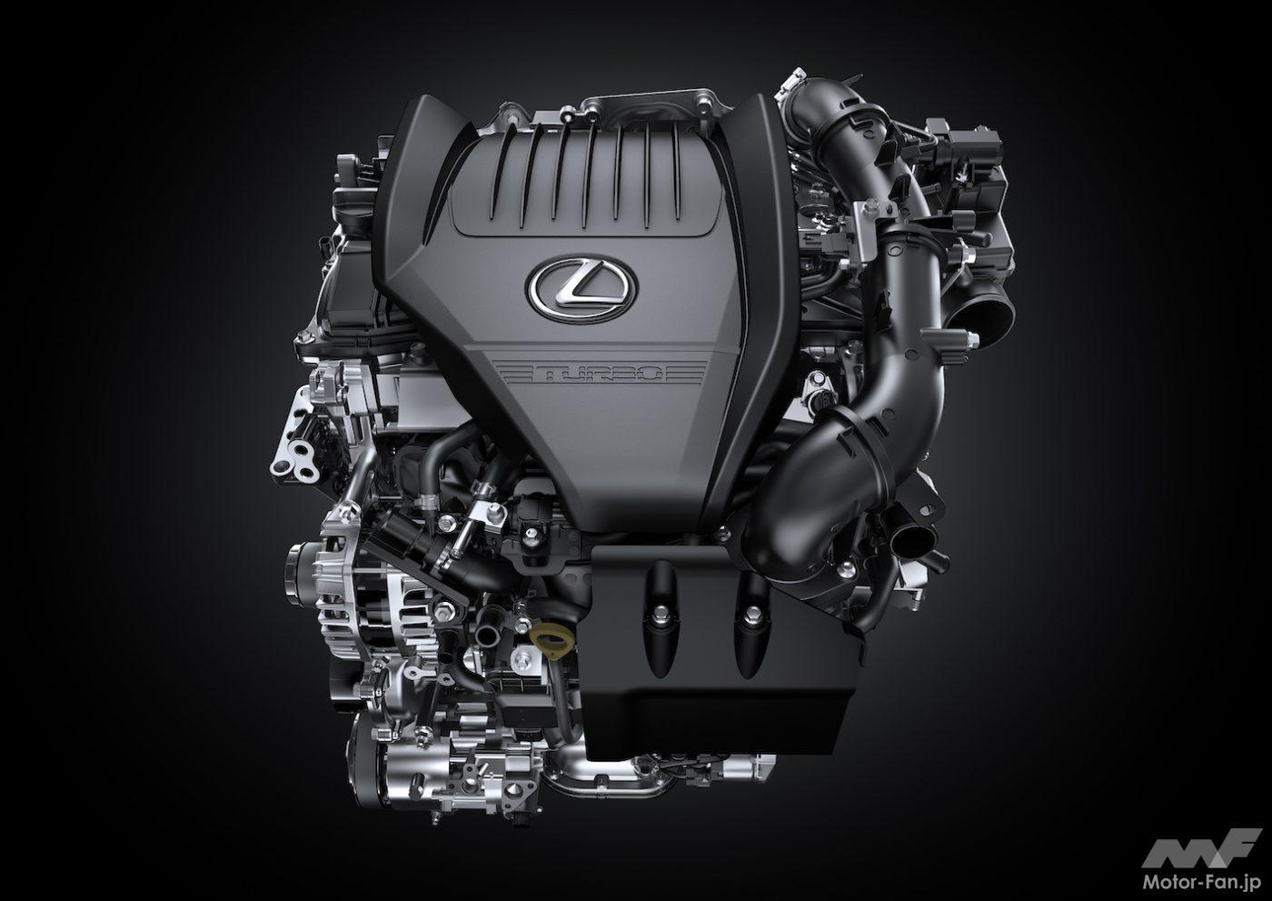 「その名は「T」 新型レクサスNXの新エンジン、2.4ℓ直4DOHC直噴ターボT24A-FTS型とは?」の6枚目の画像