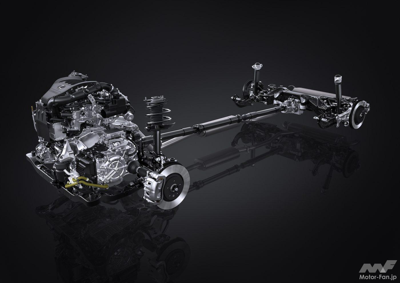 「その名は「T」 新型レクサスNXの新エンジン、2.4ℓ直4DOHC直噴ターボT24A-FTS型とは?」の7枚目の画像