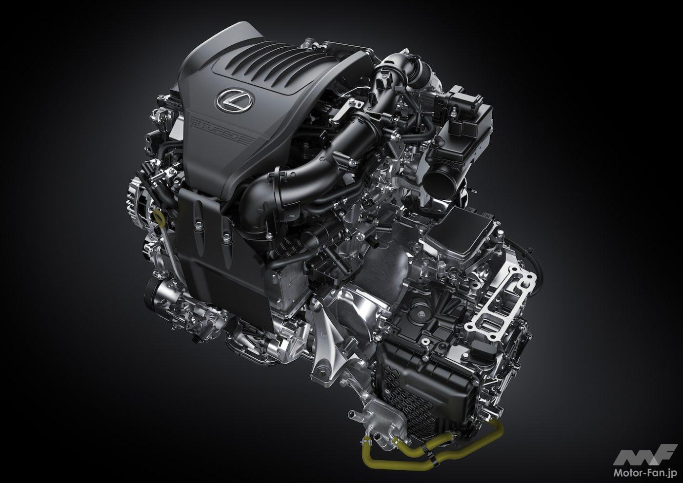「その名は「T」 新型レクサスNXの新エンジン、2.4ℓ直4DOHC直噴ターボT24A-FTS型とは?」の8枚目の画像