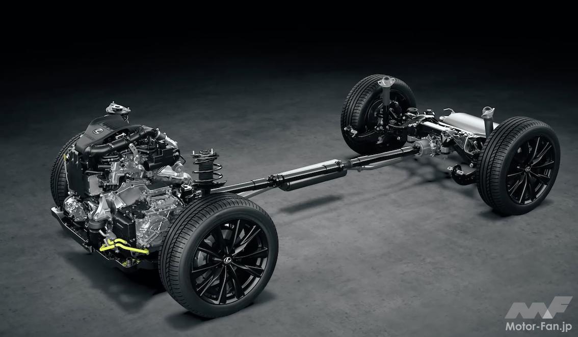 「その名は「T」 新型レクサスNXの新エンジン、2.4ℓ直4DOHC直噴ターボT24A-FTS型とは?」の9枚目の画像
