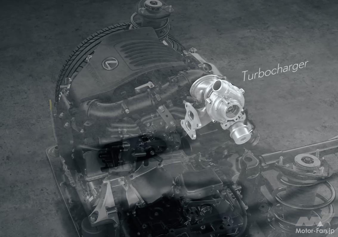 「その名は「T」 新型レクサスNXの新エンジン、2.4ℓ直4DOHC直噴ターボT24A-FTS型とは?」の10枚目の画像