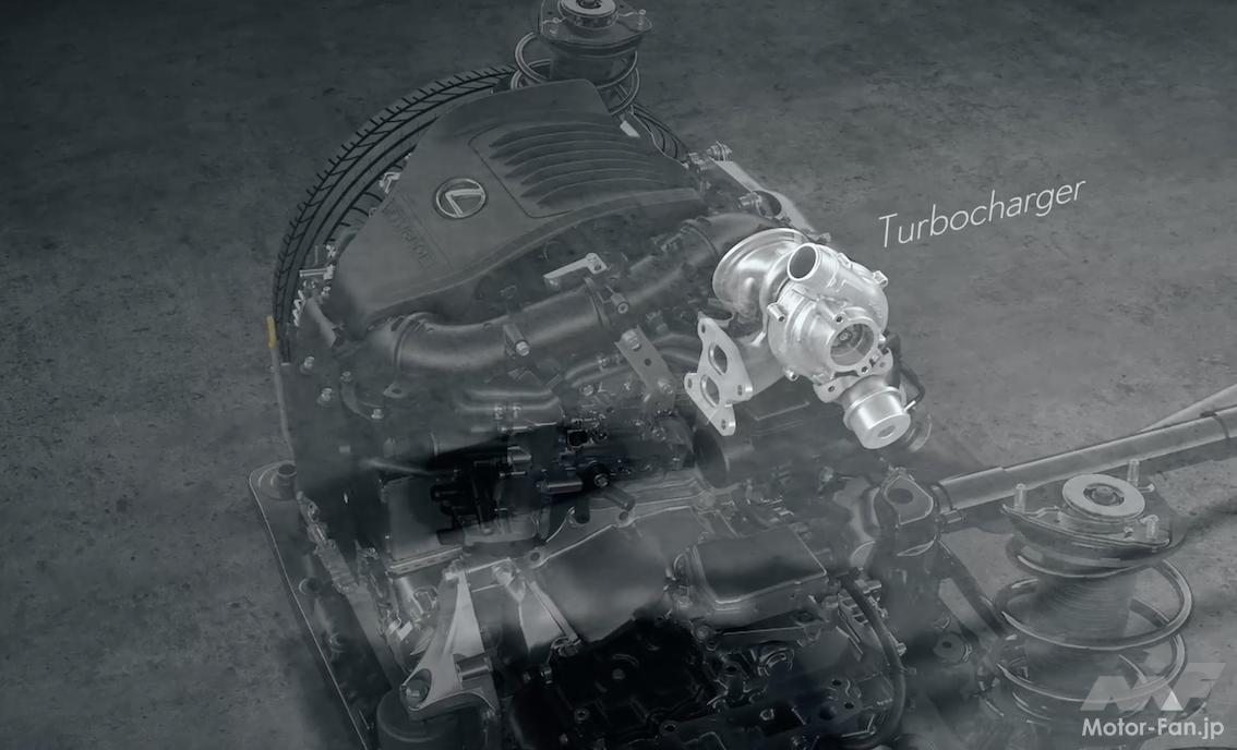 「その名は「T」 新型レクサスNXの新エンジン、2.4ℓ直4DOHC直噴ターボT24A-FTS型とは?」の12枚目の画像