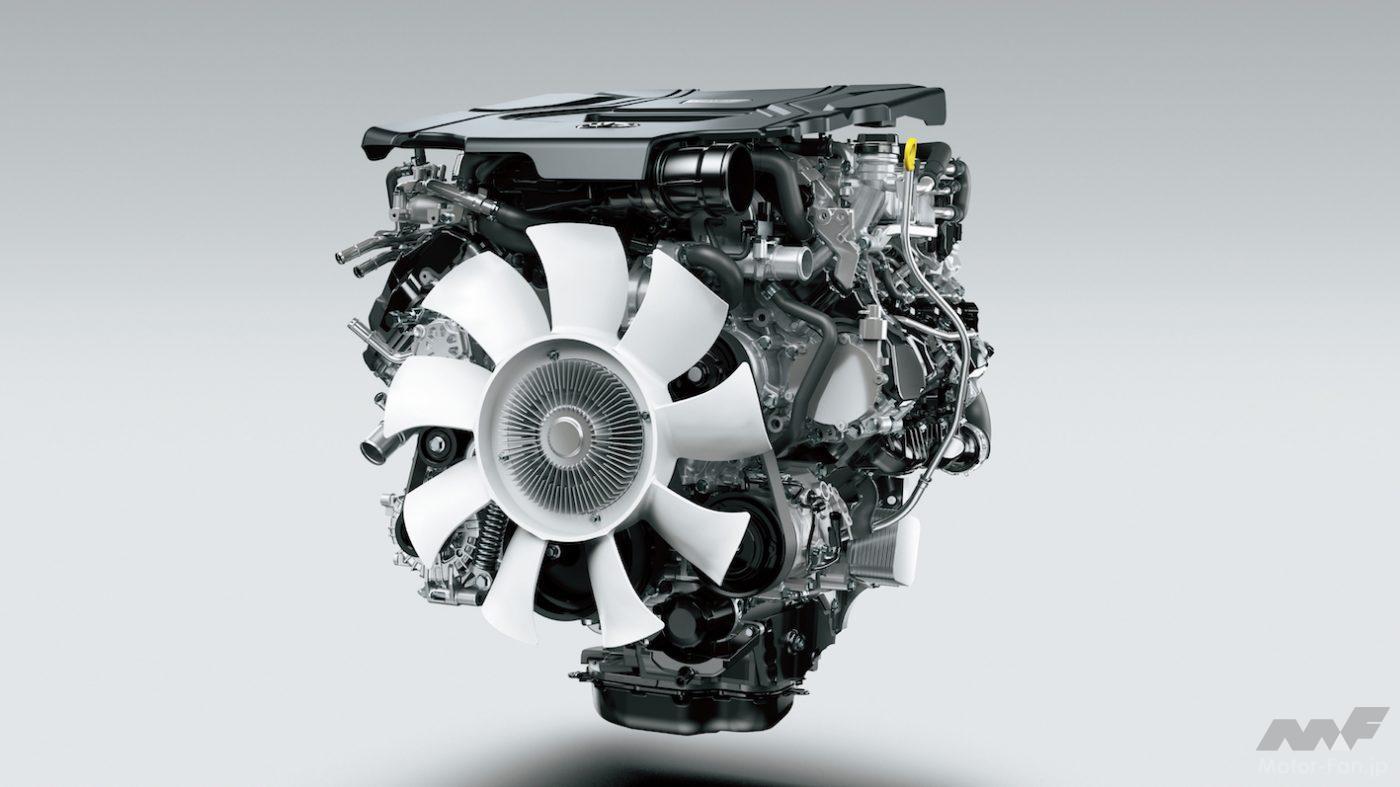 「間もなく日本デビュー! 新型トヨタ・ランドクルーザー(300系)完全新開発3.3ℓV6ディーゼルツインターボ【F33A-FTV】とはどんなエンジンになるか」の8枚目の画像