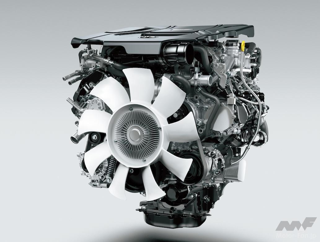 「間もなく日本デビュー! 新型トヨタ・ランドクルーザー(300系)完全新開発3.3ℓV6ディーゼルツインターボ【F33A-FTV】とはどんなエンジンになるか」の7枚目の画像