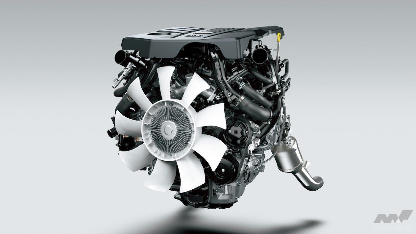「間もなく日本デビュー! 新型トヨタ・ランドクルーザー(300系)完全新開発3.3ℓV6ディーゼルツインターボ【F33A-FTV】とはどんなエンジンになるか」の10枚目の画像