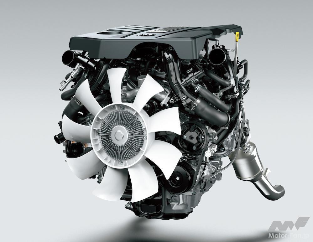 「間もなく日本デビュー! 新型トヨタ・ランドクルーザー(300系)完全新開発3.3ℓV6ディーゼルツインターボ【F33A-FTV】とはどんなエンジンになるか」の9枚目の画像