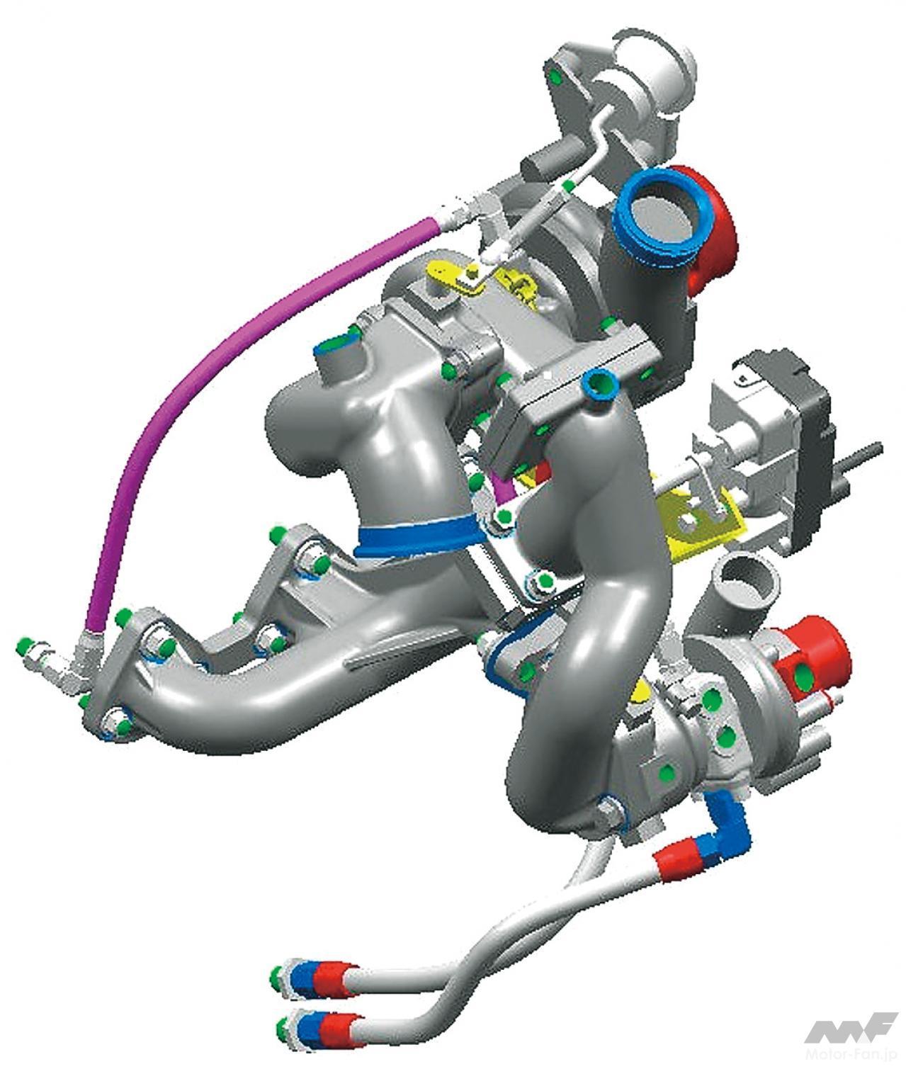 「内燃機関超基礎講座 | 三菱のダカール用ディーゼルはまさに常識破り! 量産ガソリンエンジンがベース」の5枚目の画像