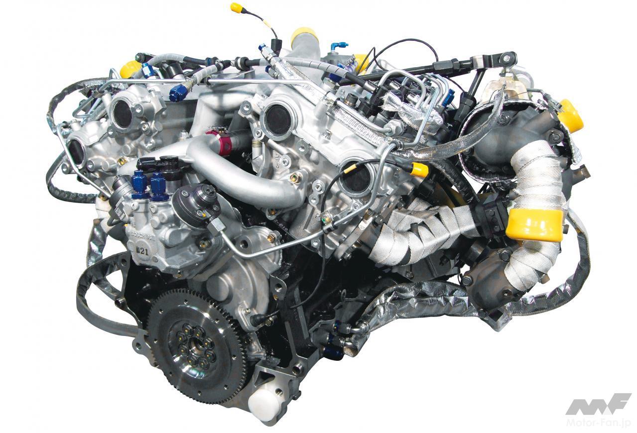 「内燃機関超基礎講座 | 三菱のダカール用ディーゼルはまさに常識破り! 量産ガソリンエンジンがベース」の1枚目の画像