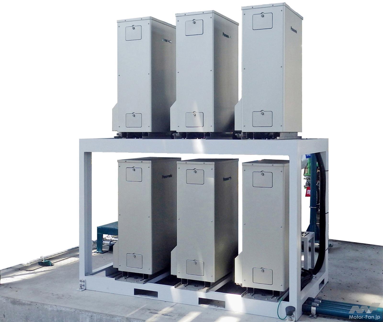 「トクヤマ、パナソニック:副生水素を用いた純水素型燃料電池の実証を開始」の1枚目の画像