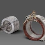 【海外技術情報】GM:アルティウムドライブを構成する3タイプのモーターを初公開 - GM's 62-kW induction EV motor will be used in all-wheel drive