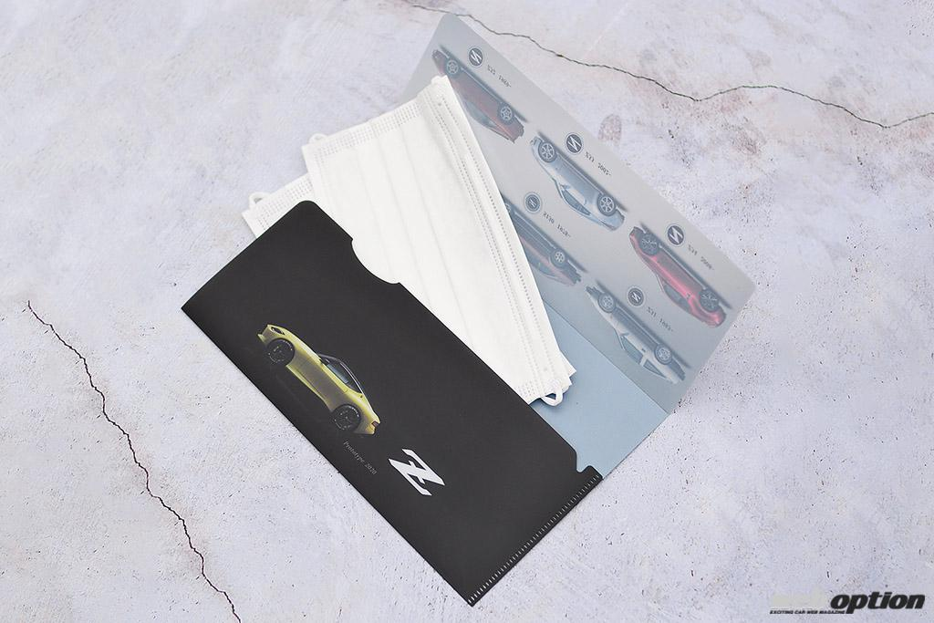 「「初代S30から新型Z35まで全モデルをプリント!」歴代フェアレディZファンに捧ぐマスクケース登場」の4枚目の画像