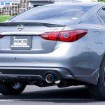 「手軽なリヤピース交換タイプで勝負」HKSがスカイライン400R用の新作マフラーを発売! - LMS_RV37_1