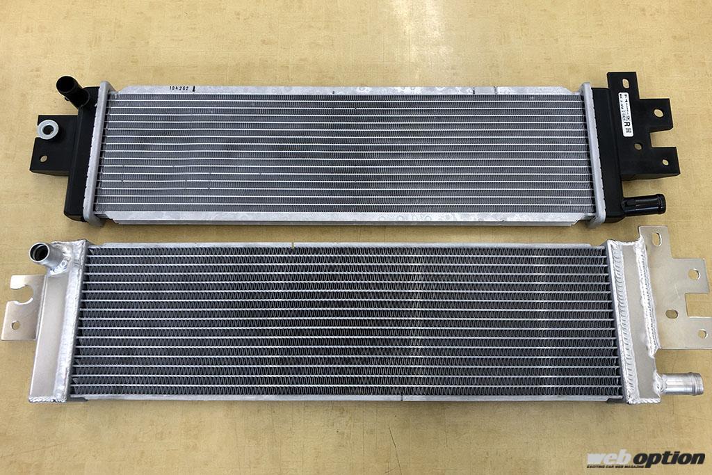 「「スカイライン400Rの熱問題を解決!」大容量ヒートエクスチェンジャーがついに登場」の3枚目の画像