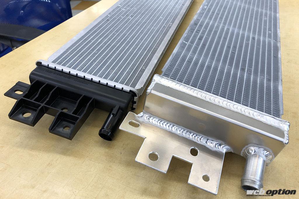 「「スカイライン400Rの熱問題を解決!」大容量ヒートエクスチェンジャーがついに登場」の5枚目の画像