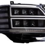 「迫力の6眼フルLED仕様で勝負!」ハイエース乗り必見の究極系ヘッドライト登場 - ハイエースヘッドランプ