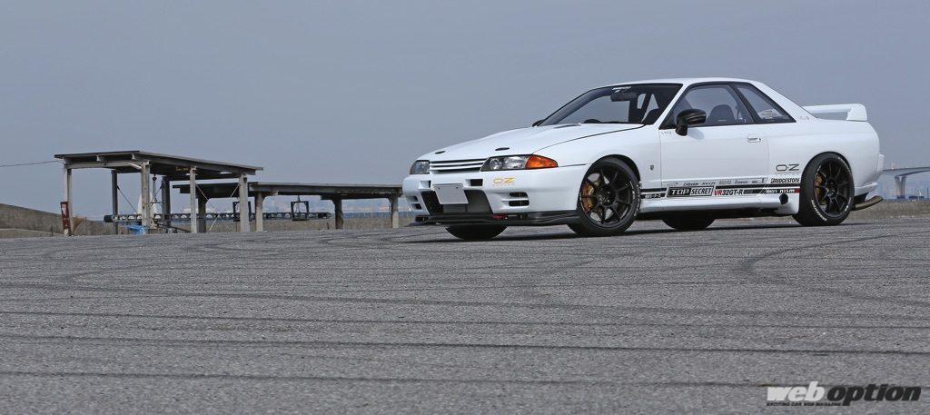 「「トップシークレットのVR32GT-Rはどのくらい速いの!?」富士スピードウェイで最高速アタックを敢行!」の1枚目の画像