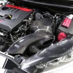 「吸気環境改善で13馬力アップ!」GRヤリス用の超美麗カーボンインテークシステムに大注目 - carbonintake_grtaris