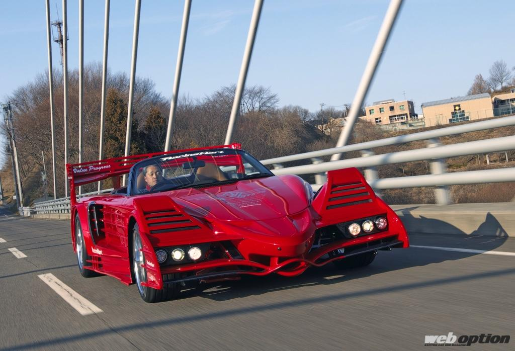 「これがMR-Sなんて信じられない・・・」夢を実現した全長5メートルの公道F1スペシャル!